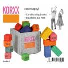 Korxx kamštmedžio kaladėlių rinkinys Brickle C (79026)