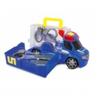 Dickie policijos automobilis ir policininko rinkinys nuotrauka nr.1