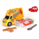DICKIE automobiliukas su įrankiais ir garso bei šviesos efektais nuotrauka nr.2