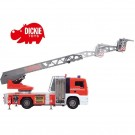 DICKIE gaisrinės automobilis 50 cm su distanciniu valdymu, vandeniu, šviesomis ir garsais nuotrauka nr.1