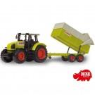 DICKIE Traktorius CLAAS Ares su priekaba 57 cm