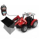 Dickie žaislinis traktorius MASSEY FERGUSON su distanciniu valdymu