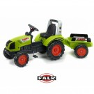FALK CLAAS didelis traktorius su priekaba