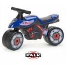 Falk  paspirtukas - balansinis dviratukas - motocikliukas XRACER, mėlynas nuotrauka nr.2