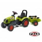 FALK Claas Arion 410 vaikiškas traktorius su priekaba