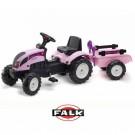 FALK Princess traktorius su priekaba ir rinkiniu smėliui