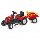 FALK RANCH traktorius su priekaba ir smėlio žaislais nuotrauka nr.1