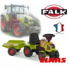Falk Traktorius - paspirtukas su priekaba Baby Claas Axos + nuotrauka nr.4