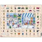 Larsen dėlionė (puzzle) mokinamės angliškai Maxi