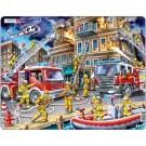 Larsen dėlionė (puzzle) Gaisro gesinimas Maxi