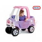 Little Tikes Cozy Truck mašinytė - paspirtukas Princesei, tylūs ratukai