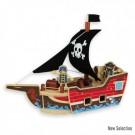 Medinis piratų laivas 3+
