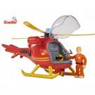 Simba gelbėtojų sraigtasparnis su garsu ir šviesos efektais Gaisrininkas Semas