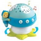 Smoby cotoons naktinė lempa Grybukas su projektoriumi, mėlyna