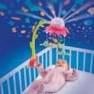 Smoby Cotoons karuselė - vaizdų projektorius, rožinė nuotrauka nr.2