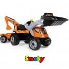 SMOBY minamas traktorius MAX su priekaba ir kaušais nuotrauka nr.6