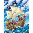 Larsen dėlionė (puzzle) Piratai Maxi