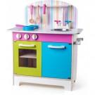 """Vaikiška medinė virtuvėlė - """"Spalvų pasaulis"""""""