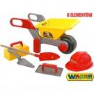WADER vaikiškas karutis su statybininko įrankiais nuotrauka nr.1