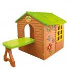Vaikiškas namelis su staliuku