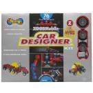 ZOOB konstruktorius Mobile Car designer 76+12det.