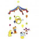 GOKI medinė karuselė Spalvotasis cirkas