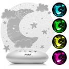 REER ColourLumy naktinis LED šviestuvas Mėnulis
