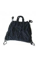 REER Pirkinių krepšys vežimėliui, juodos spalvos