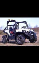 TO-MA (PL) WXE7988 Vaikiškas elektromobilis Džipas 4WD 12V su distanciniu valdymu ir galinėmis lempomis EVA