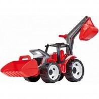 LENA gigantiškas ekskavatorius-traktorius