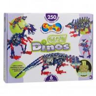ZOOB konstruktorius ZooB 250 Glow Dinos