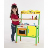 TIDLO medinė virtuvė Mažoji šeimininkė