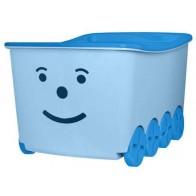 Dėžė žaislams 52 l talpos, mėlyna