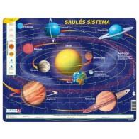 Larsen dėlionė (puzzle) Saulės sistema Maxi