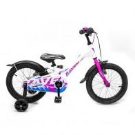 Lengvas vaikiškas dviratis 4-8 metų vaikams Raven aliuminio rėmu