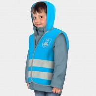 REER vaikiška dviratininko liemenė MyBuddyGuard, mėlyna