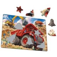 Larsen dėlionė (puzzle) Gigantiškas sunkvežimis Maxi