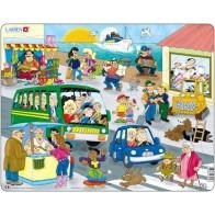 Larsen dėlionė (puzzle) Gyvenimas mieste Maxi