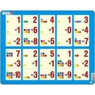 Larsen dėlionė (puzzle) Sudėtis 1- 10 Maxi