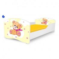 NOBIKO vaiko lova su čiužiniu Rainbow Mano Draugas