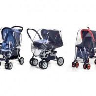 REER Universali apsauga nuo lietaus vežimėliui 3 in 1