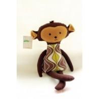 Grikių lukštų žaisliukas-šildyklė bezdžionėlė