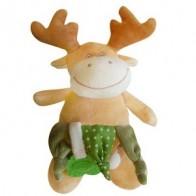 Pliušinis žaisliukas su kramtuku Briedis