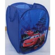 Išskleidžiama dėžė žaislams Cars, keturkampė