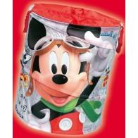 Išskleidžiama dėžė žaislams Mickey apvali