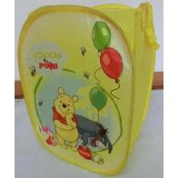 Išskleidžiama dėžė žaislams Winnie, keturkampė