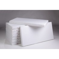 TROLL čiužinys Fiber Block 60x120 cm, baltas