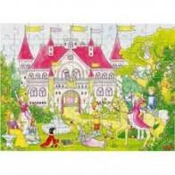 GOKI dėlionė (puzzle) 37x27cm, Pasakų pilis