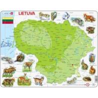 Larsen dëlionë (puzzle) Lietuva Maxi