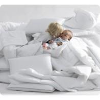 TROLL Fluffy pagalvė ir antklodė, balta